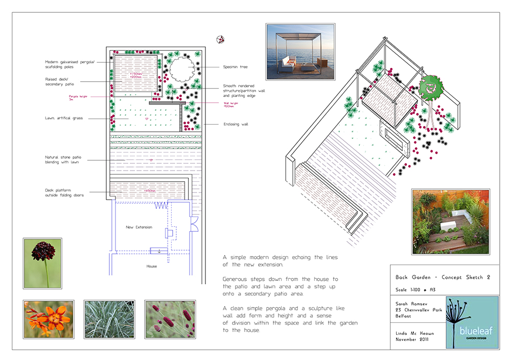 Garden Design Dundonald and Belfast wide
